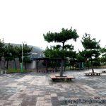 제주공항 근처 용담레포츠 공원에서 캠핑을 하였다.